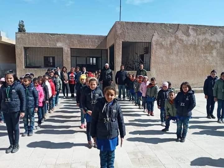 Photo of حملة معاً لتدفئة القلوب تصل إلى قرية المقروصة في جبل الشيخ