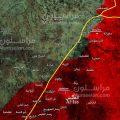 """توسع عسكري على جانبي الطريق الدولي """"دمشق-حلب"""""""