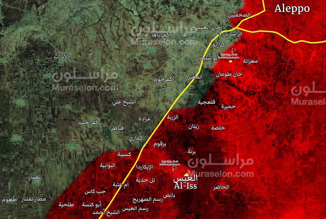 """Photo of توسع عسكري على جانبي الطريق الدولي """"دمشق-حلب"""""""
