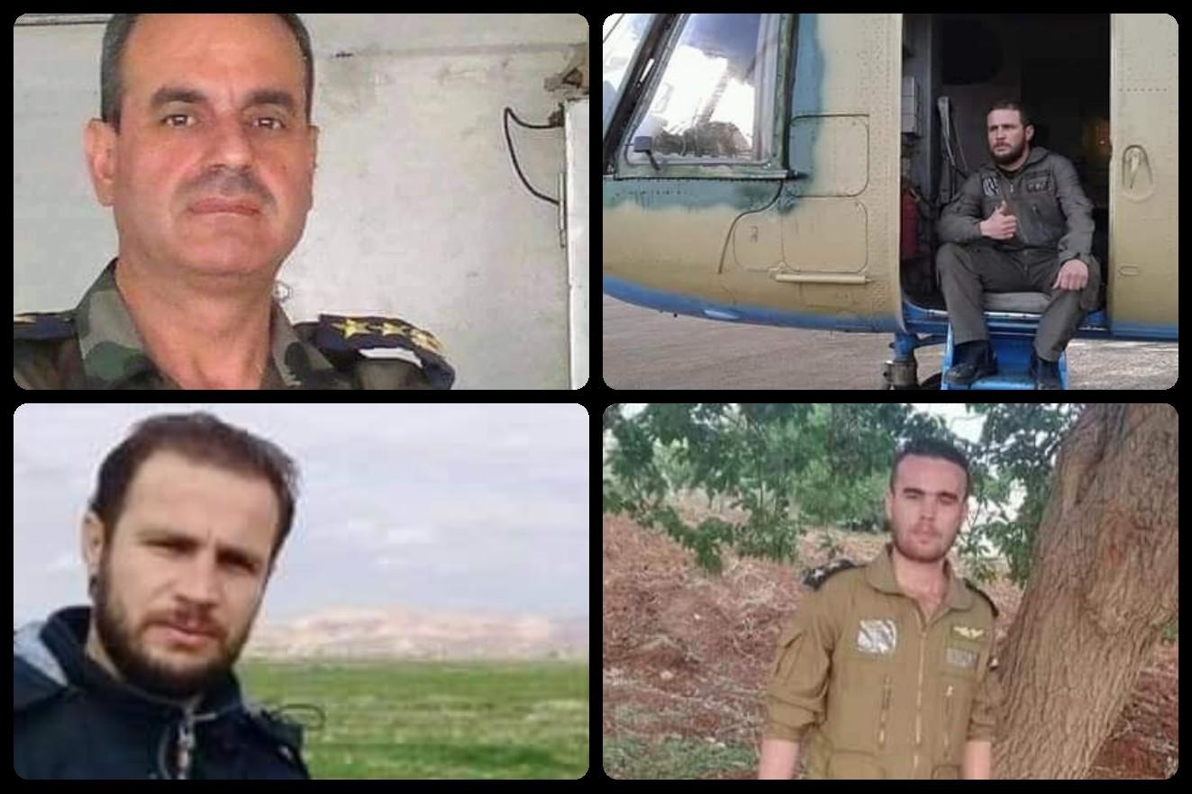 Photo of استشهاد جميع أفراد طاقم مروحية للجيش التي أسقطت بصاروخ في ريف إدلب (صور)