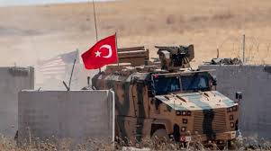 Photo of Turkish occupation and its mercenaries fire shells at villages in Hasaka countryside