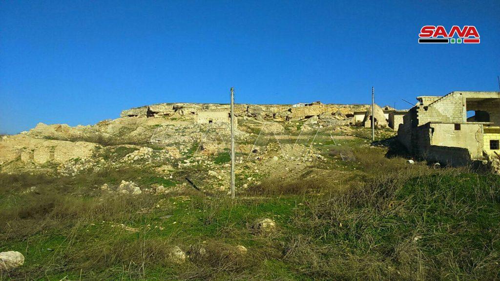 Photo of بالصور- الجيش يُحرر قريتي خلصة والقراصي بريف حلب الغربي