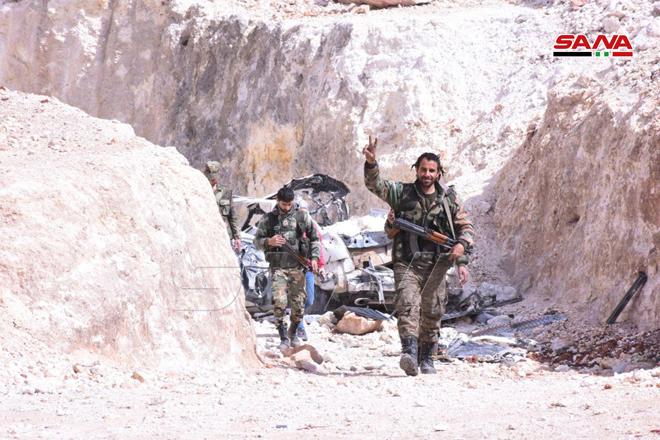 "Photo of مقر ""الجولاني"" بقبضة الجيش العربي السوري"