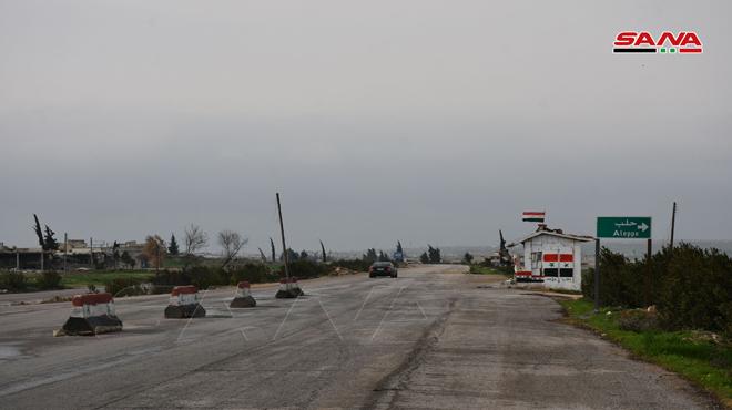 """Photo of إعادة فتح الطريق الدولي""""حلب – حماة"""""""