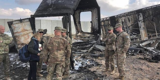 Photo of العراق.. قصف على معسكر التاجي الأمريكي والبنتاغون يعترف بالإصابات