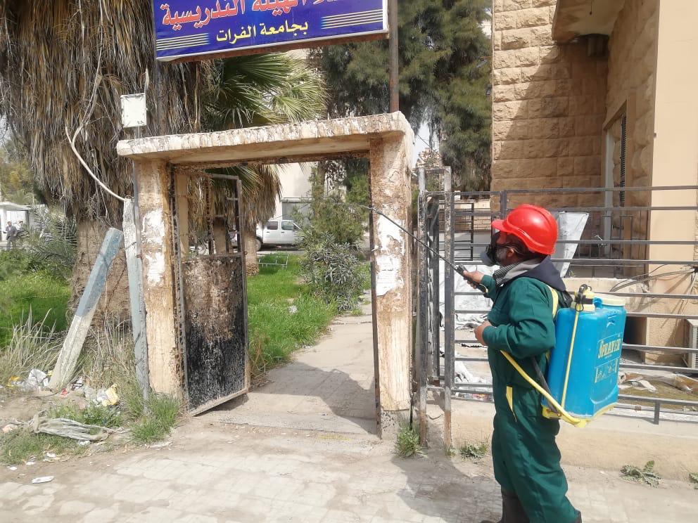 Photo of حملات تعقيم بحدائق دير الزور (صور)