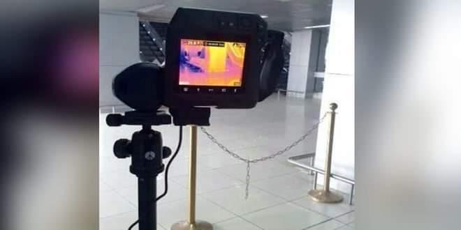 Photo of تركيب ماسح ضوئي حراري في مطار دمشق لتسهيل قياس حرارة الجسم للكشف عن الإصابة بفيروس كورونا
