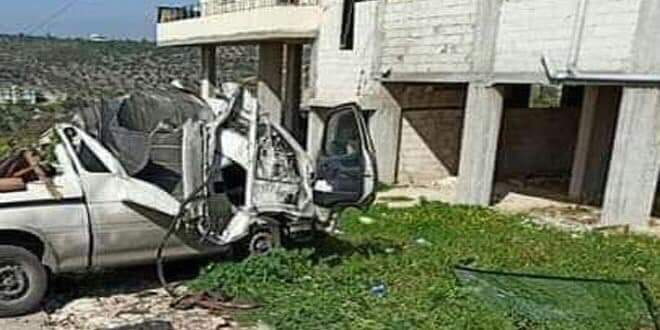 Photo of Two Syrians and a Russian soldier die in traffic accident in Tartous countryside