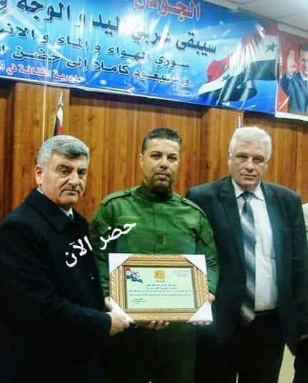 Photo of حسام الطويل ابن بلدة حضر العامل الحراجي الأول على المنطقة الجنوبية