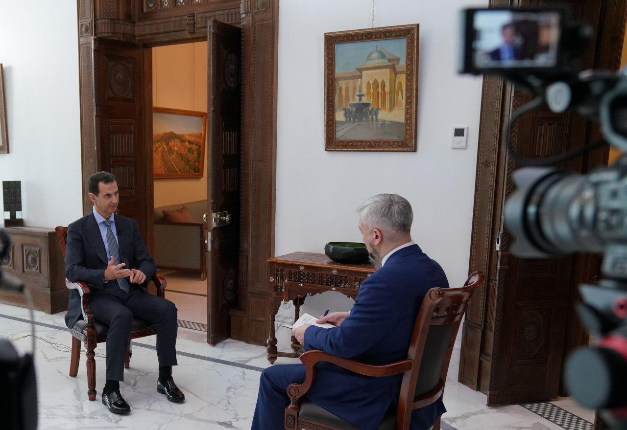 Photo of النص الكامل لمقابلة السيد الرئيس بشار الأسد مع قناة روسيا 24
