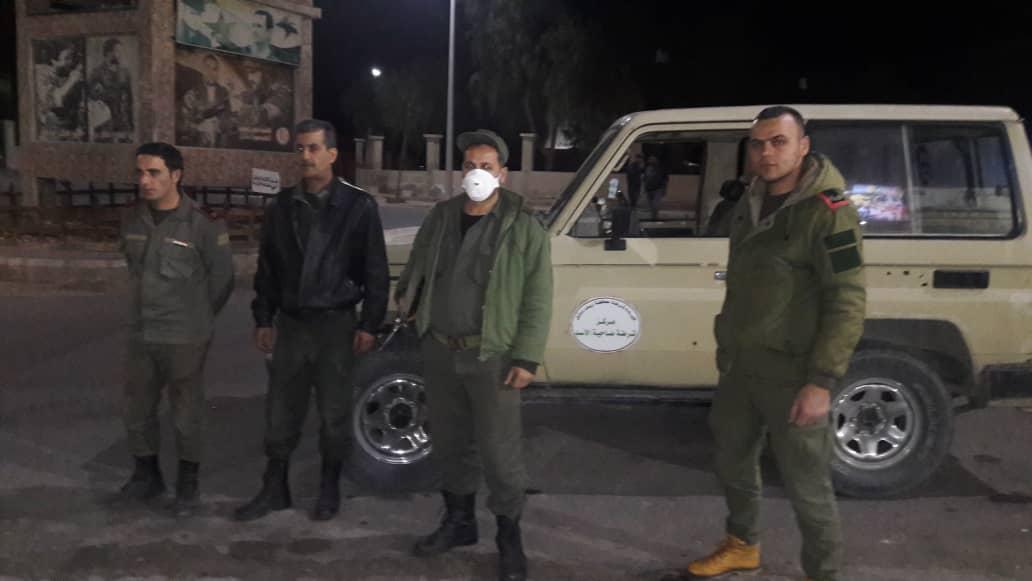 Photo of جولان تايمز  ترصد اليوم الثاني للحظر في ضاحية الأسد
