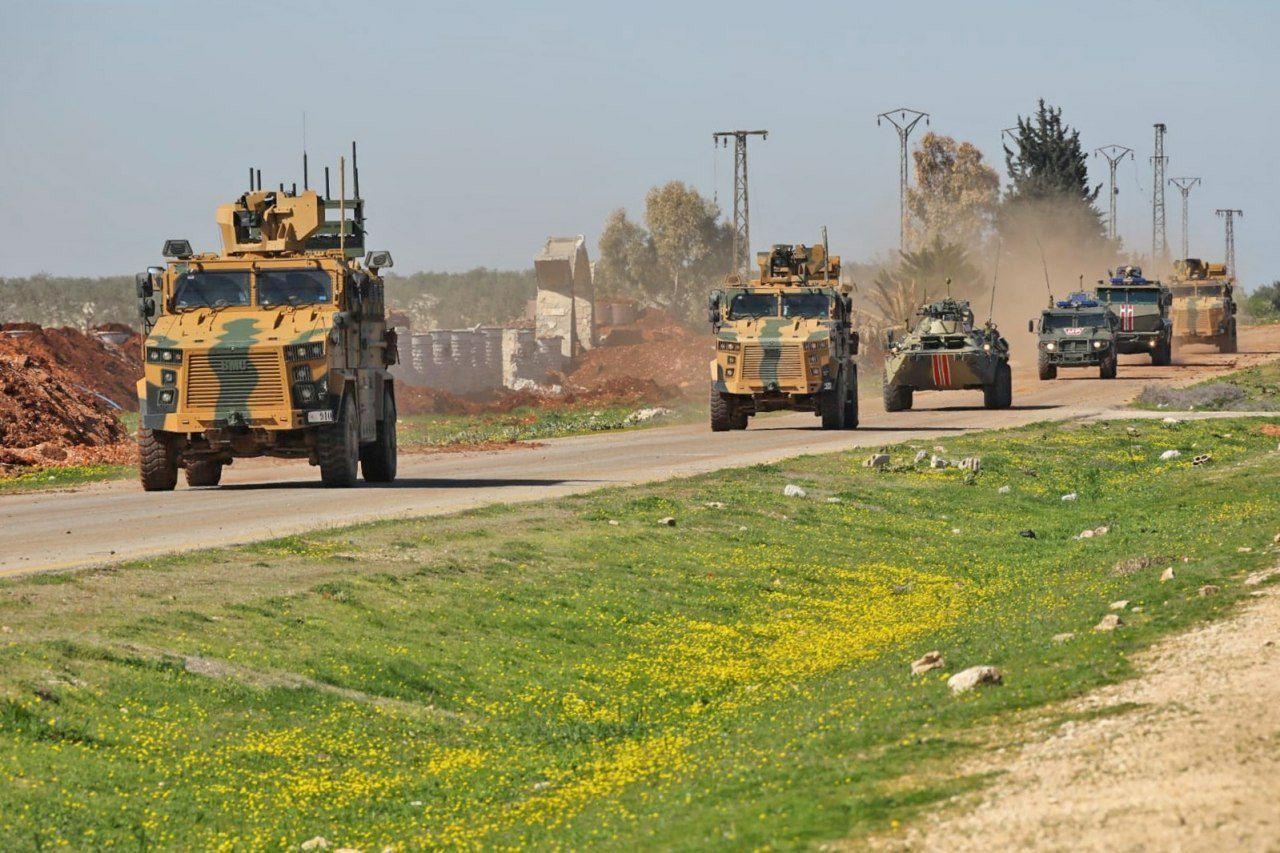"Photo of تسيير دورية مشتركة ""روسية-تركية"" على اتوستراد M4(صور)"