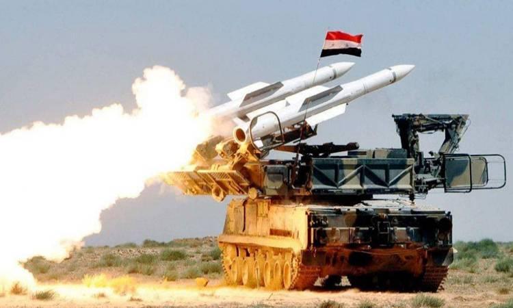 Photo of الدفاعات الجوية السورية تتصدى لعدوان اسرائيلي ليل أمس