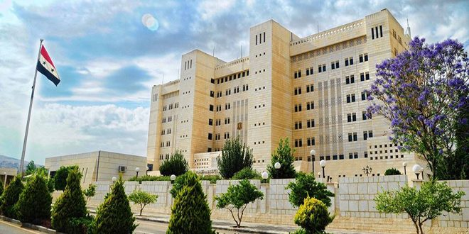 Photo of Foreign Affairs and Emigrants Ministry announce the resumption of work in the embassies and consulates of the Syrian Arab Republic