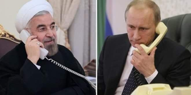 Photo of Presidents Putin and Rouhani: Need for continuing consultations on Astana process about Syria
