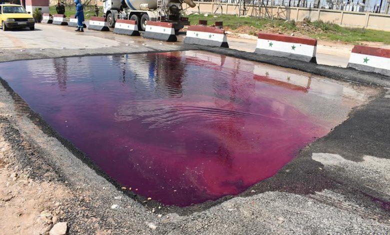 "Photo of بادرة نوعية بحلب..أحواض مائية عند مداخل لتعقيم السيارات من ""كورونا"""