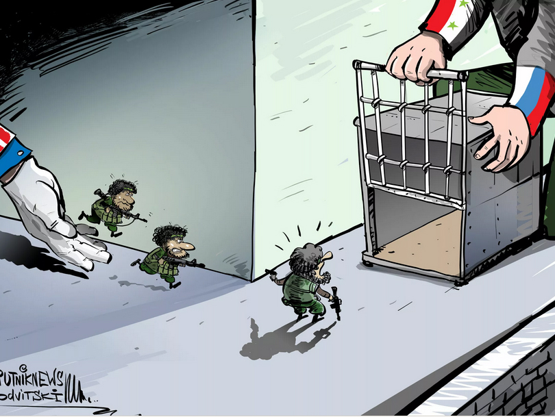 Photo of مسلحون دربتهم أمريكا على الإرهاب يسلمون أنفسهم للجيش السوري