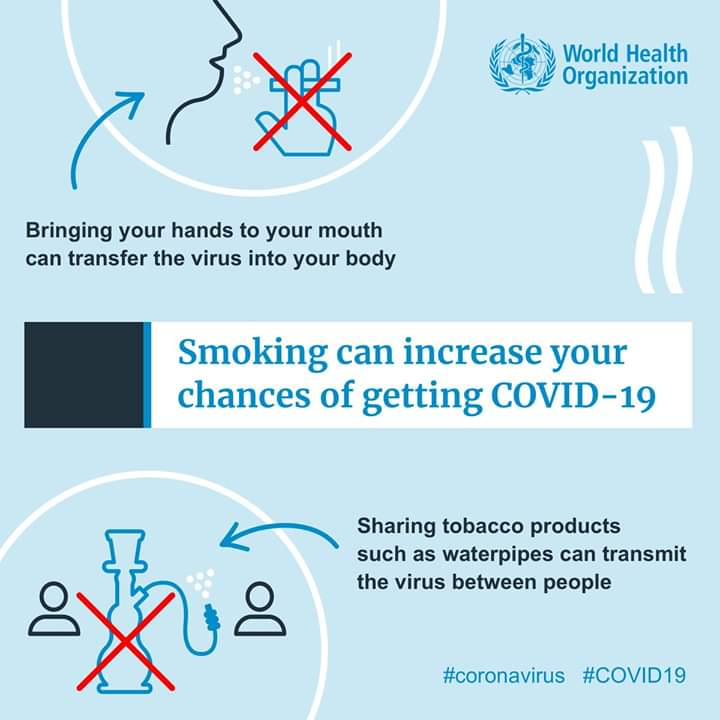 Photo of World Health Organization published some advices to protect yourself