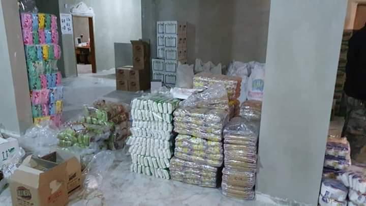 Photo of مبادرة خيرية من نجران بتوزيع سلل غذائية لبعض العائلات المستورة