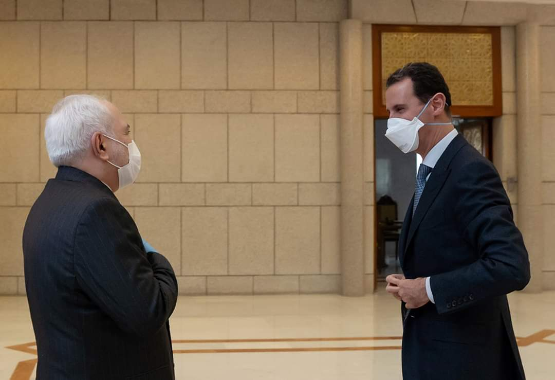 Photo of President  Assad meets Mohammad Javad Zarif, Minister of Foreign Affairs of the Islamic Republic of Iran