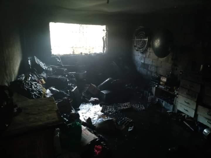 Photo of حريق منزل في مدينة السويداء و الأضرار اقتصرت على الماديات