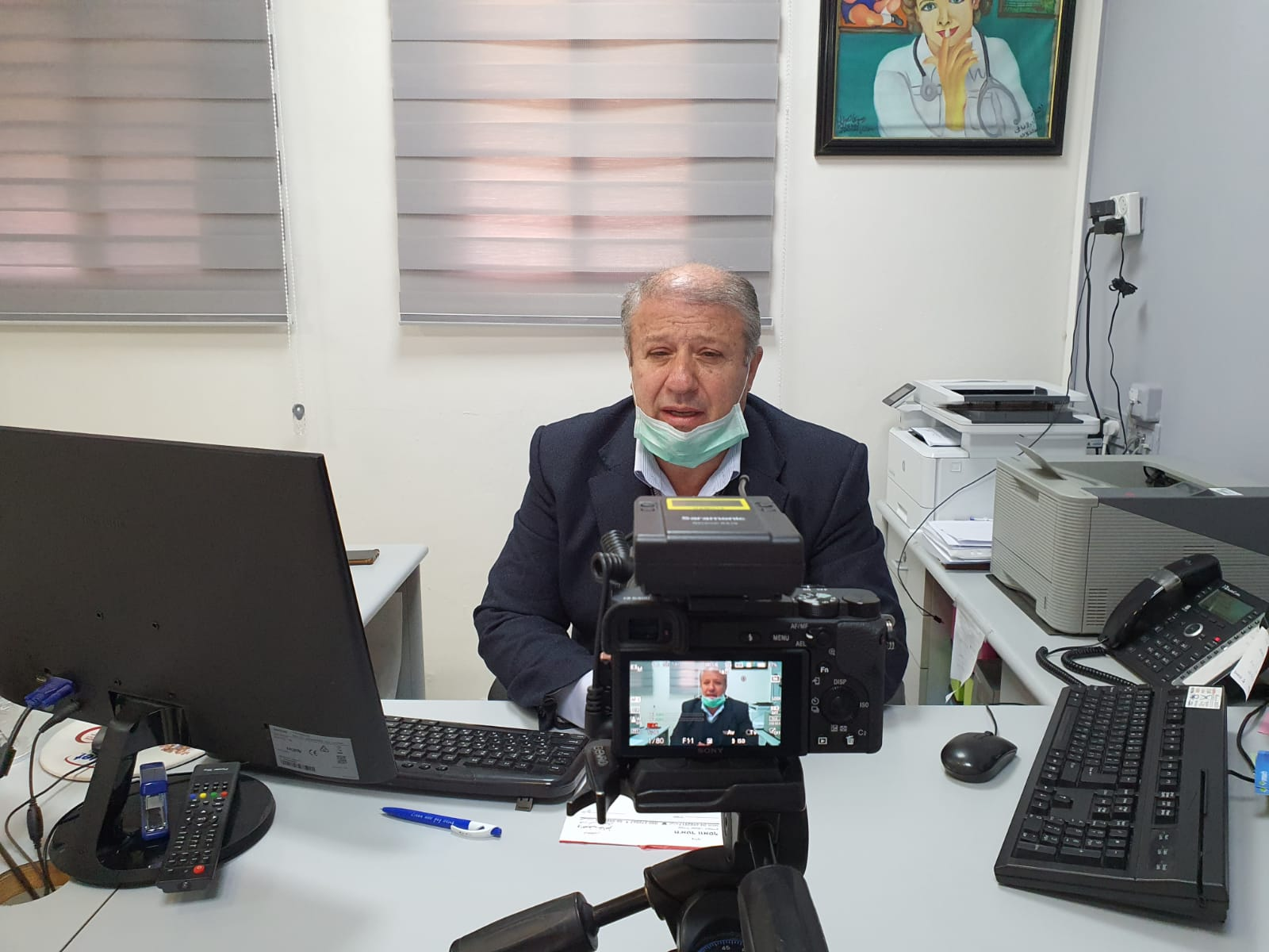 Photo of الدكتور واصف خاطر وآخر مستجدات فيروس كورونا في مجدل شمس المحتلة والجولان