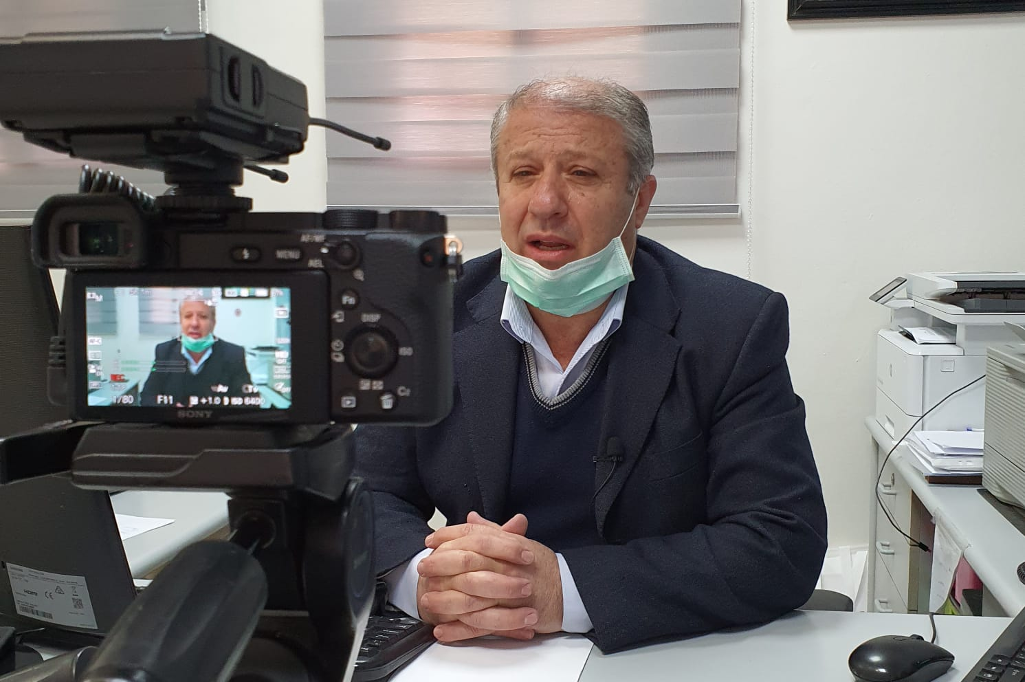 Photo of الدكتور واصف خاطر لجولان تايمز شفاء المصابه بفايرو سكورونا في مجدل شمس