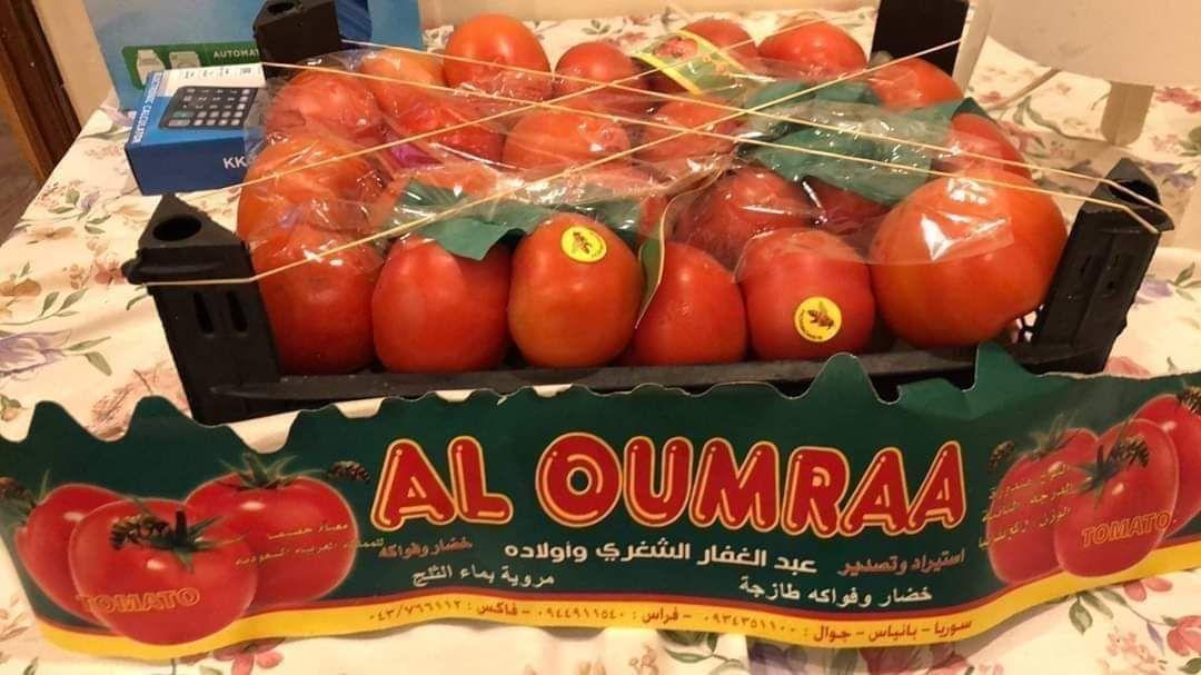 "Photo of بسبب التهريب.. ""بندورة"" سوريّة بأسواق السعودية بأسعار أرخص من أسعارها في السوق المحلية !!"