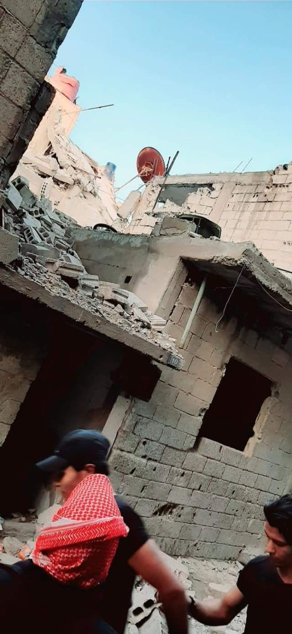 Photo of بالصور- ثلاثة شهداء بالعدوان الإسرائيلي على دمشق