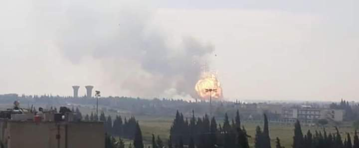 Photo of An explosion targets the gas pipeline in the vicinity of al-Thalja village