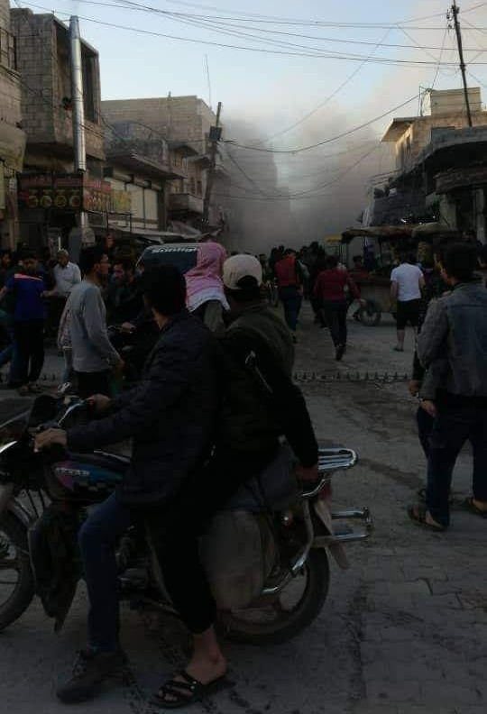 Photo of Civilian martyred, around 20 others injured by IED blast in al-Bab city