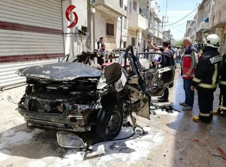 Photo of Civilian martyred, mercenaries killed in IED blast in al-Bab