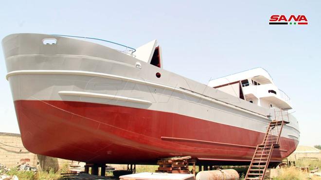 Photo of بإمكانيات بسيطة.. صنع سفينة في طرطوس تحمل مواصفات عالمية