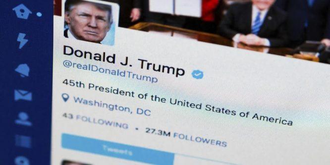 """توتير يحذر من مصداقية تغريدات """"ترامب"""""""