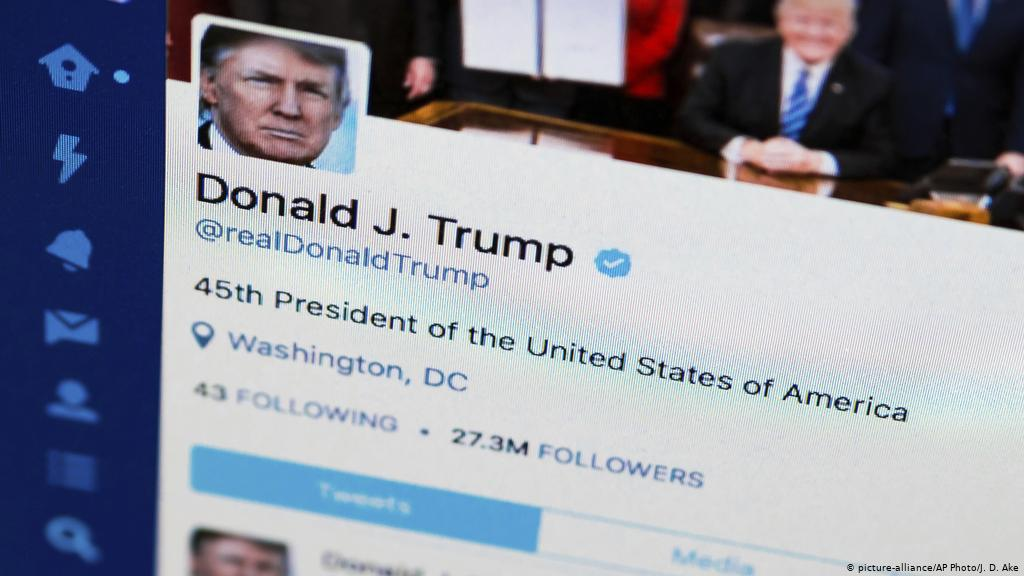 "Photo of توتير يحذر من مصداقية تغريدات ""ترامب"""
