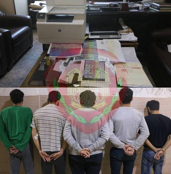 Photo of عصابة خطيرة لتزوير الوثائق الحكومية و الشخصية بقبضة الأمن السوري