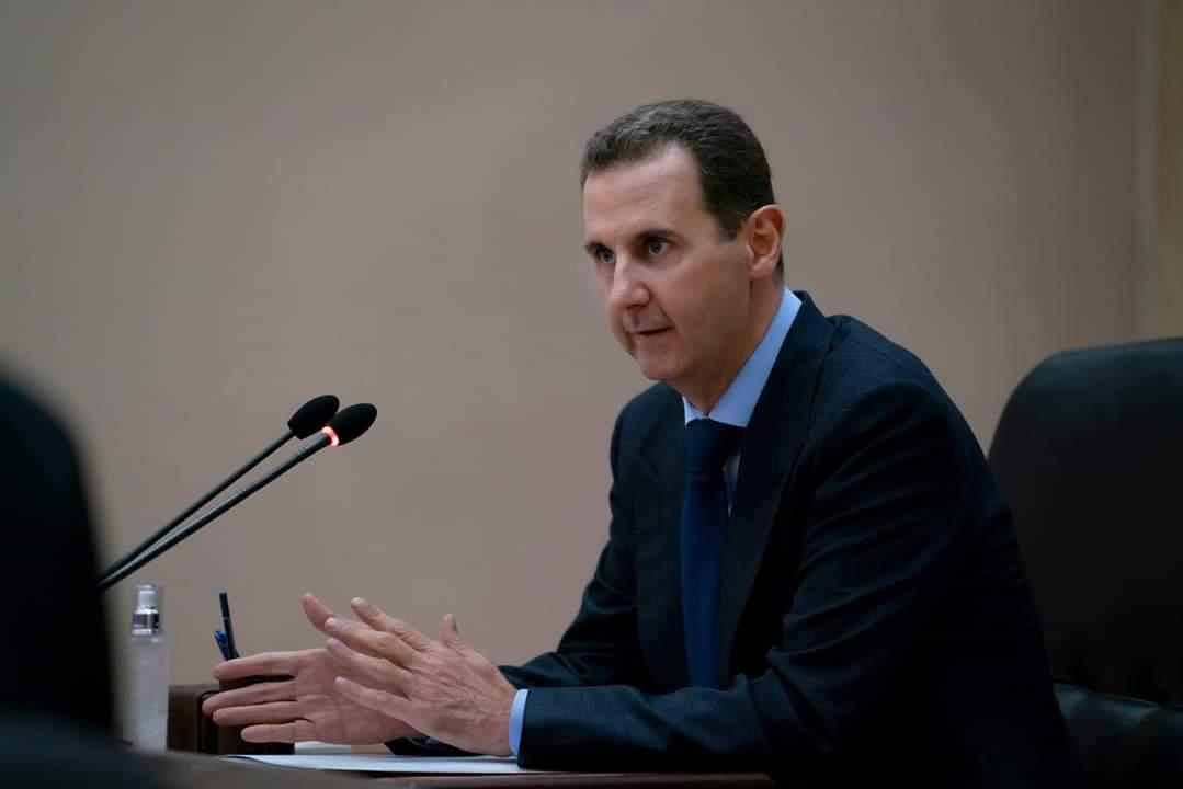 Photo of بالفيديو- الرئيس الأسد يقدم للحكومة خطة تكسر احتكار التجار وتدعم المنتج والمواطن.