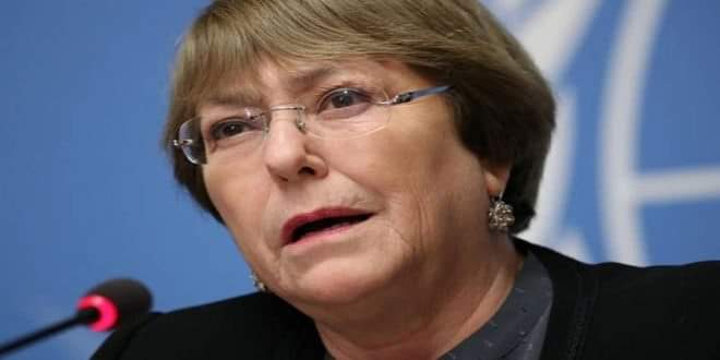 Photo of Bachelet: Terrorists exploiting COVID-19 pandemic to inflict violence on civilians in Syria