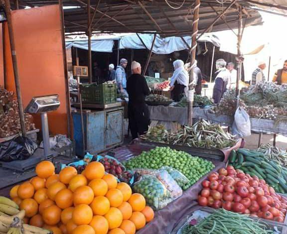 Photo of أول سوق شعبي يباشر عمله في السويداء