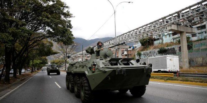فنزويلا تعلن إحباط محاولة انقلاب على السلط