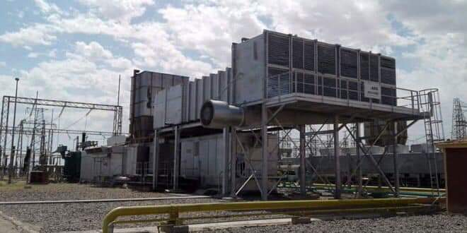 Photo of Rehabilitating second gas group to generate electricity at al-Tayem plant, Deir Ezzor