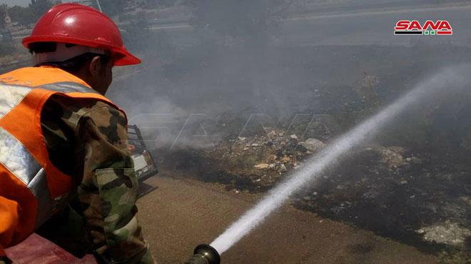Photo of إخماد خمسة حرائق في مناطق متفرقة بحمص