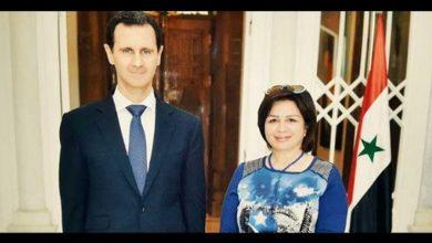 Photo of إلهام شاهين تكشف تفاصيل زيارتها لسوريا ولقاءها الرئيس الأسد