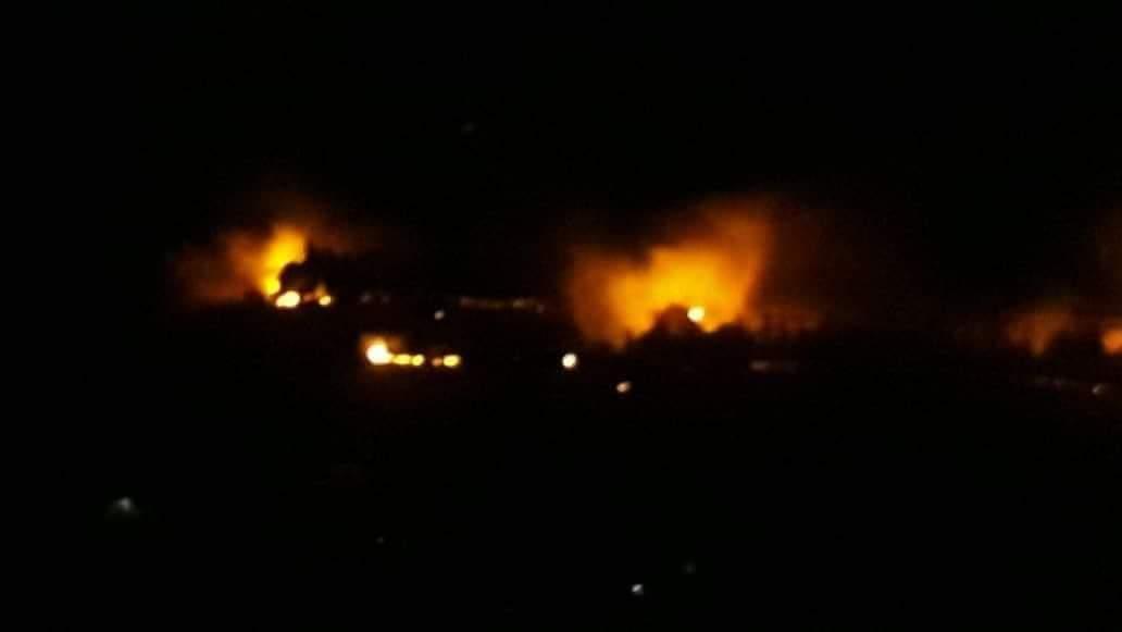 Photo of أضرار مادية دون خسائر بشرية بالعدوان الإسرائيلي  على مصياف مساء أمس