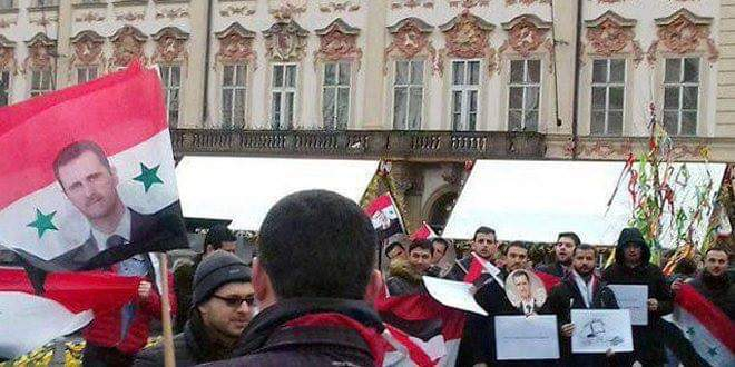 """Photo of Syrian community in Czech Republic: """"Caesar Act"""" targets Syrians' livelihood"""