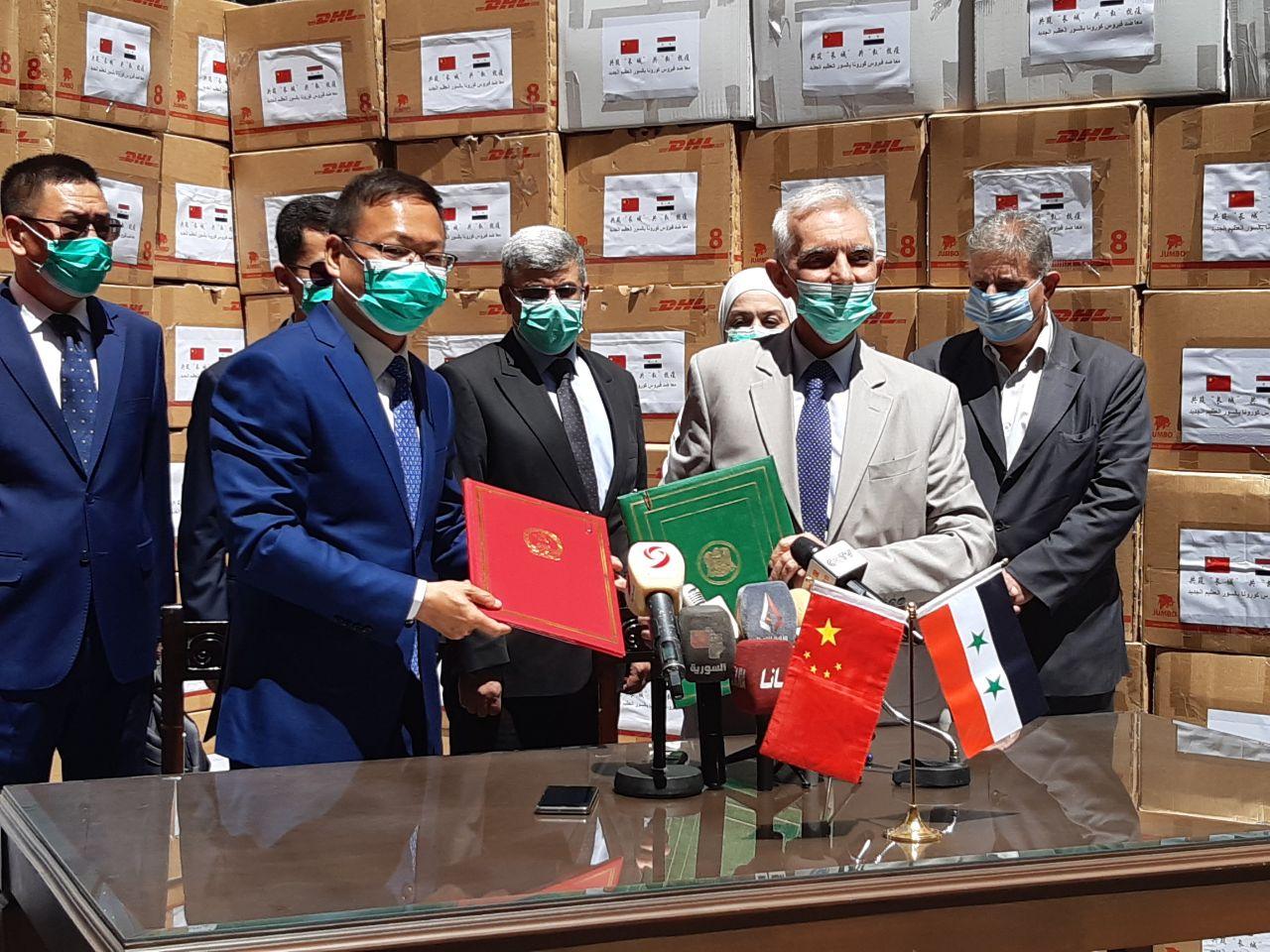 Photo of وزارة الصحة تستلم الدفعة الثانية من المساعدات الصينية (صور)