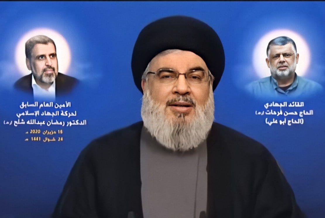 "Photo of نصر الله: لن نسمح لقانون ""قيصر"" بهزيمة سوريا"