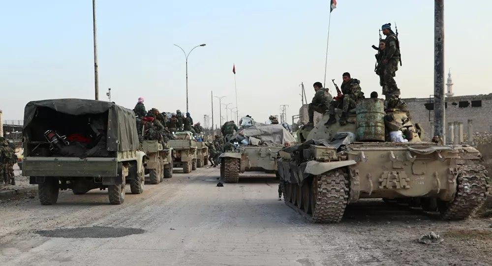 Photo of الجيش السوري يرسل تعزيزات إلى عين عيسى شرق الفرات