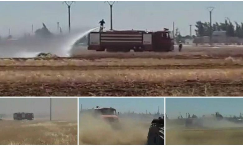 Photo of 5 حرائق في سلمية تلتهم مئات الدونمات