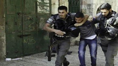 Photo of Israeli occupation forces arrest two Palestinians in Hebron
